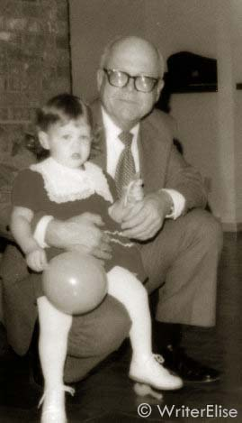 My grandfather and I when I was two or three.