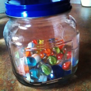 Spare marbles, in case I loose mine. It happens sometimes.